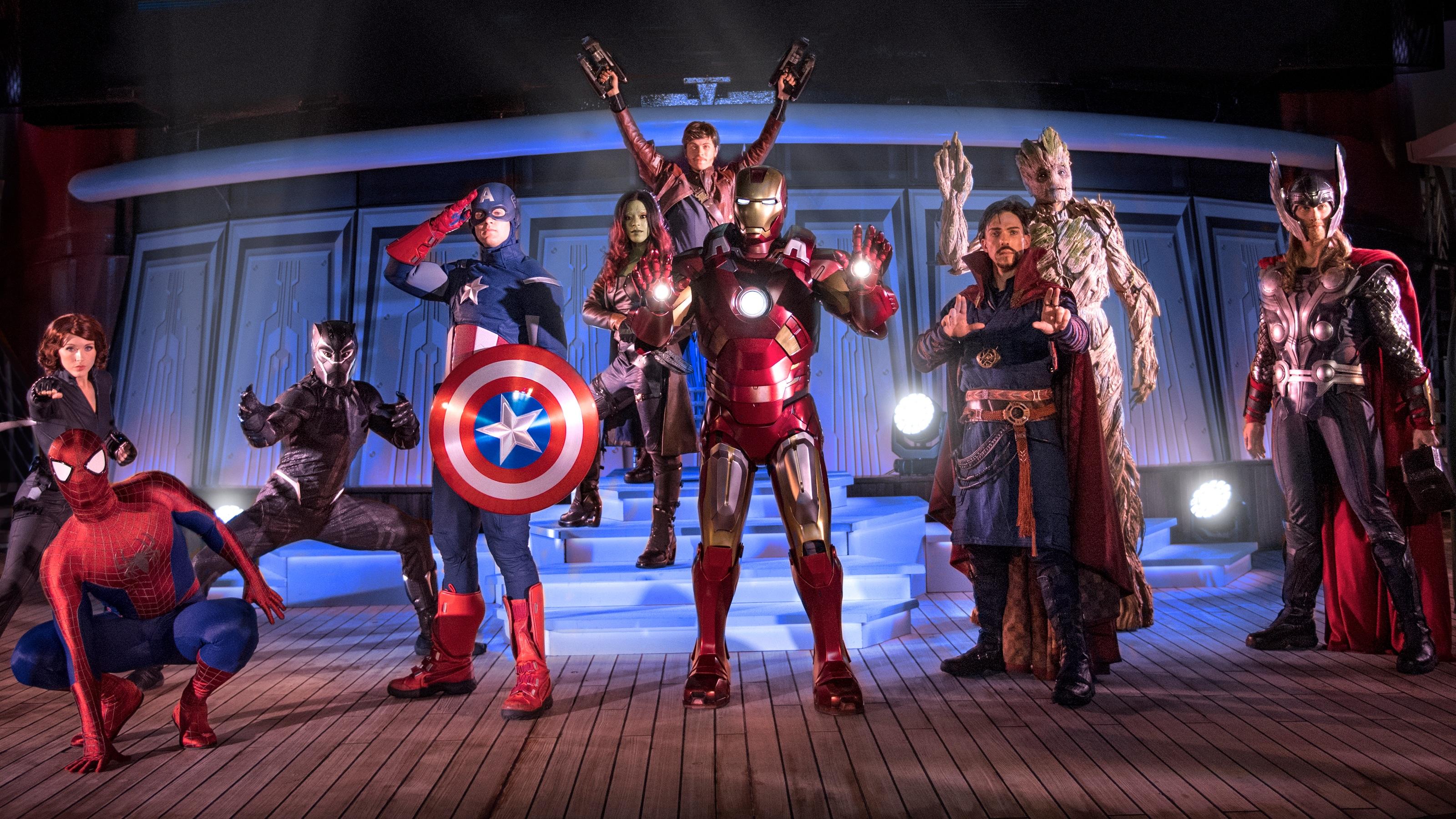 Cruceros Marvel Day At Sea Disney Cruise Line