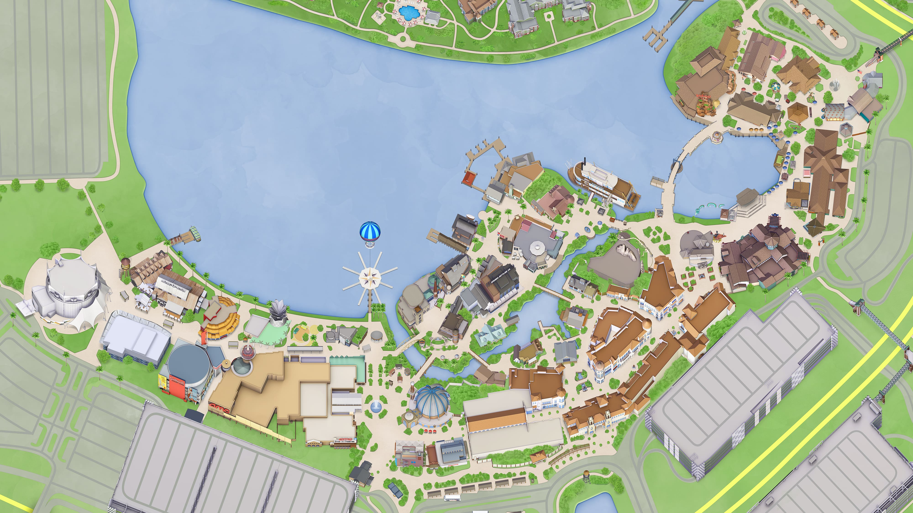 Visiting & Hours   Disney Springs