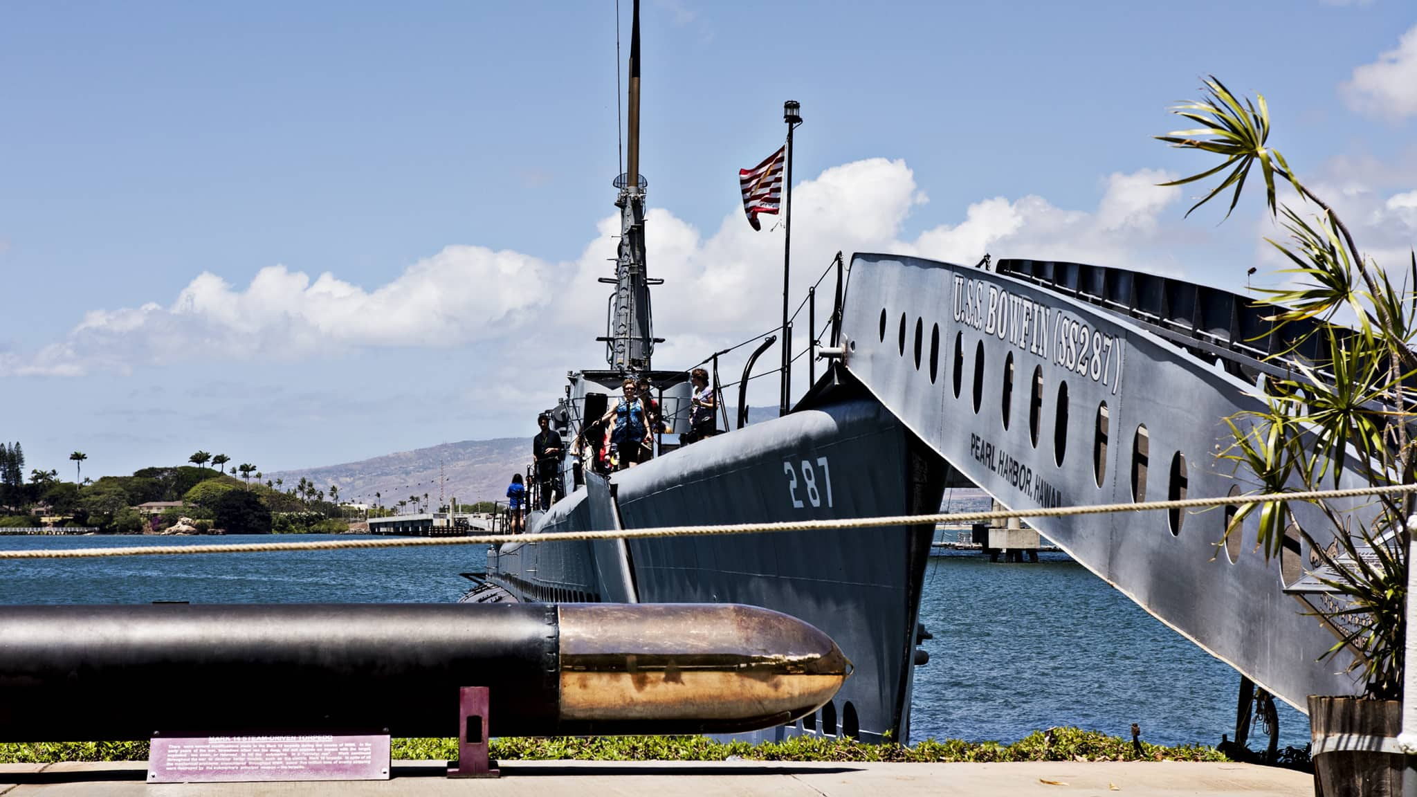 The USS Bowfin Submarine Museum and Park at Pearl Harbor