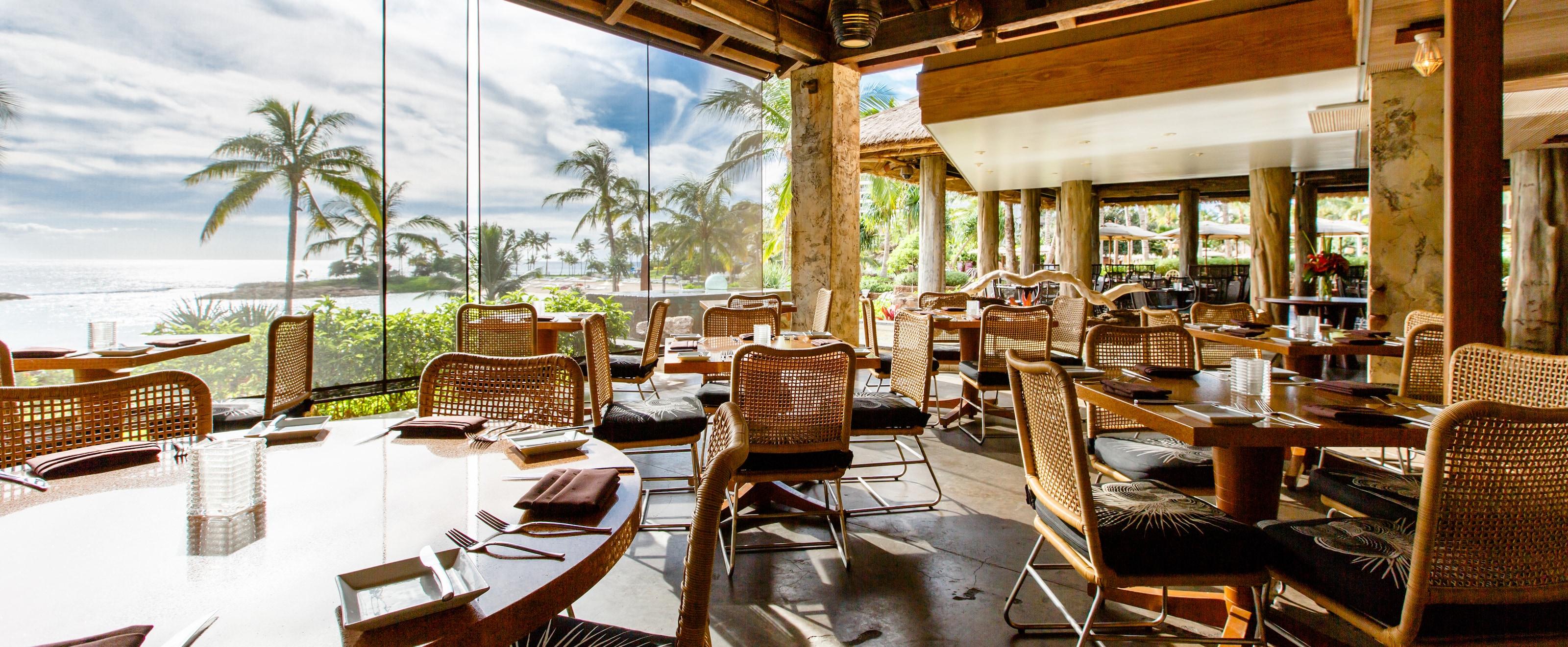 Amaama Hawaiian Cuisine Restaurant Aulani Hawaii Resort