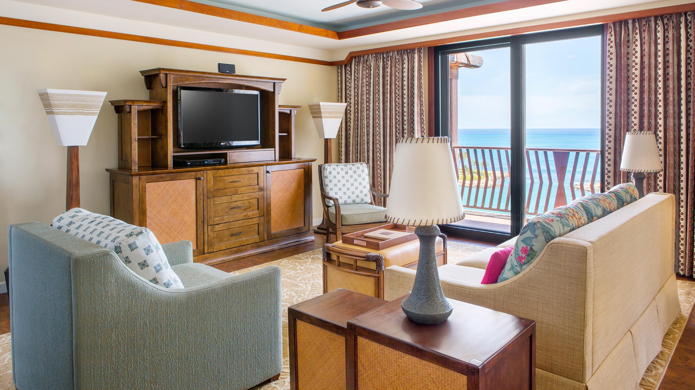 Three Bedroom Grand Villa Aulani Hawaii Resort Amp Spa