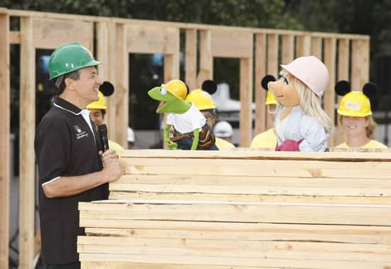 Bob Iger, Kermit the Frog and Miss Piggy