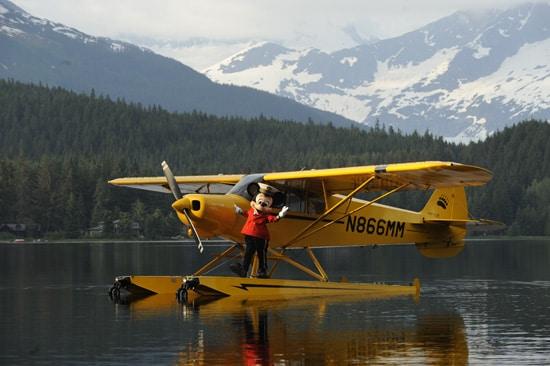 Mickey & Disney Cruise Line Visits Alaska