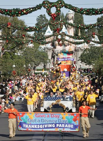 Thanksgiving Parade at Disneyland
