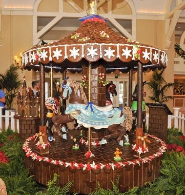 The Edible Carousel at Disney's Beach Club Resort