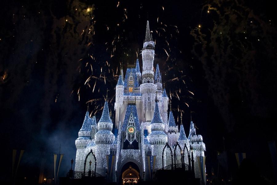 Cinderellas Castle Dipped In Sugar