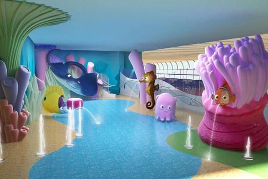 Nemo's Reef Aboard the Disney Dream