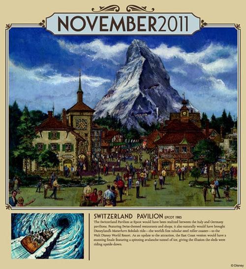 November 2011: Switzerland Pavilion