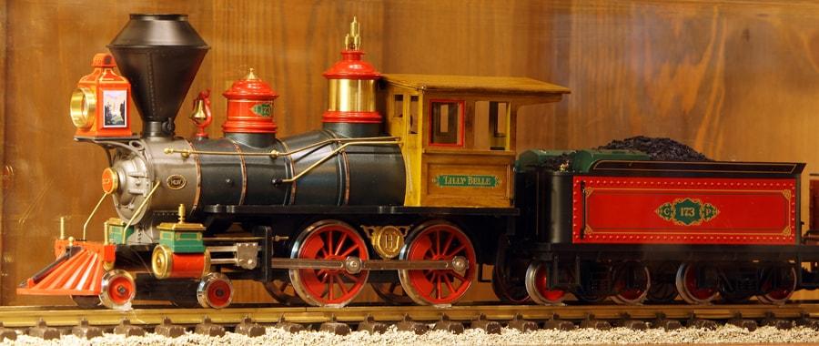 Trains at the Villas at Disney's Wilderness Lodge   Disney Parks Blog