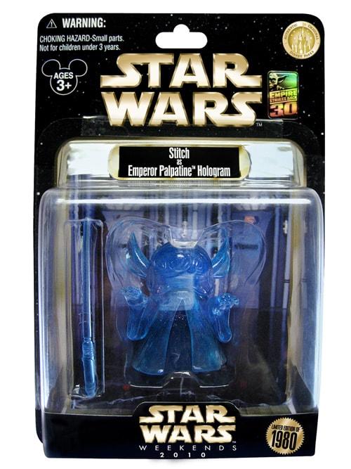 Holographic Emperor Stitch Figure