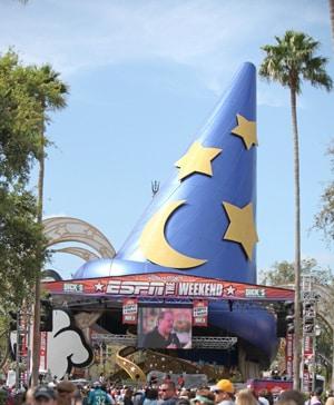 ESPN The Weekend at Disney's Hollywood Studios