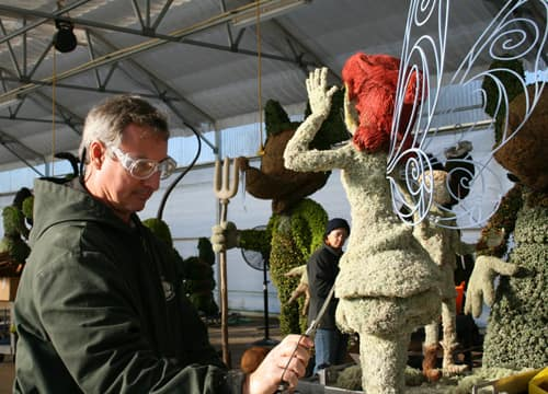 Behind the Scenes: Epcot International Flower & Garden Festival
