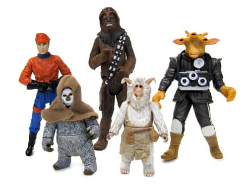 Star Tours Boarding Party Commemorative Figures