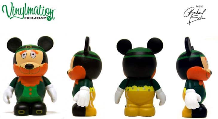 """Patrick Day Lucky to Know You Clover Plush 11/"""" Disney Parks Mickey Mouse St"""