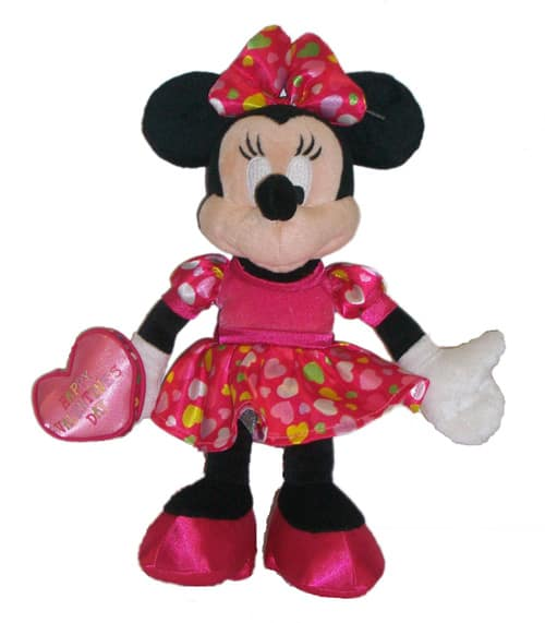 Valentine's Day Minnie Mouse Plush
