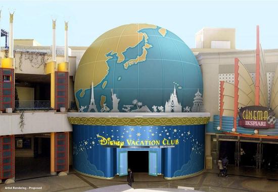 First Disney International Sales Center