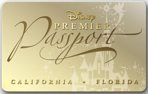 Disney Premier Passport