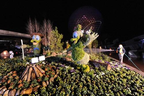 Finishing Touches – Epcot International Flower & Garden Festival