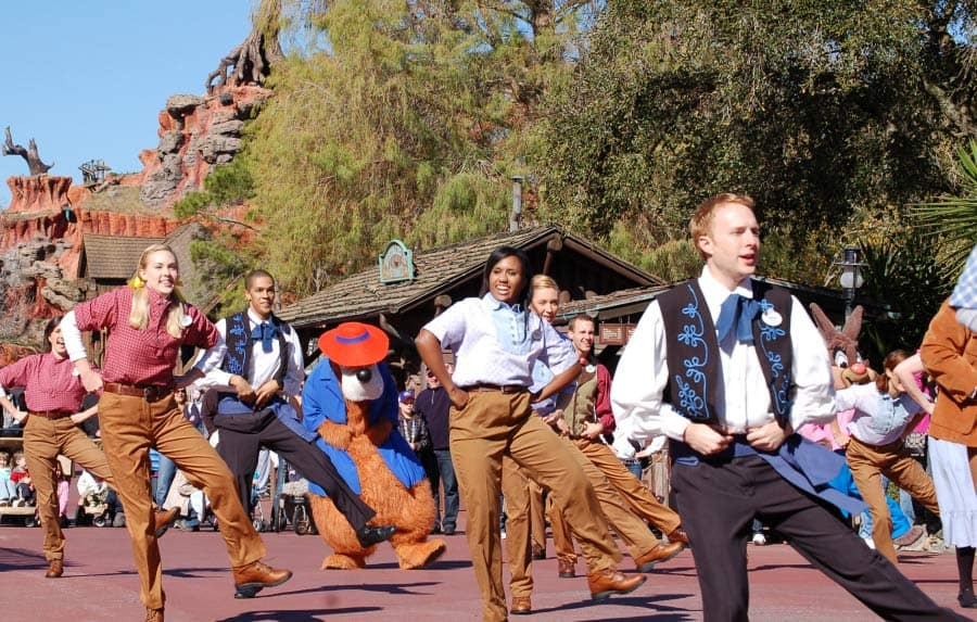 Image result for magic kingdom hoedown happening