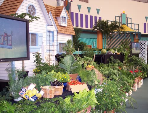 Garden Town Programs at the Epcot International Flower & Garden Festival