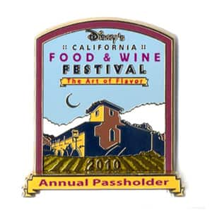 Disney's California Food & Wine Festival Pin