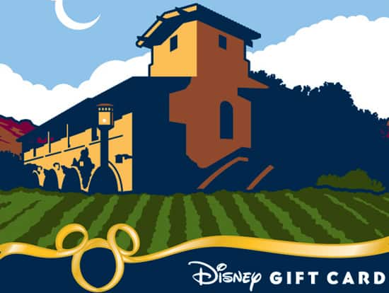 Disney's California Food & Wine Festival Disney Gift Card