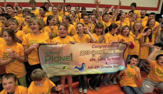 Disney's Planet Challenge Winners