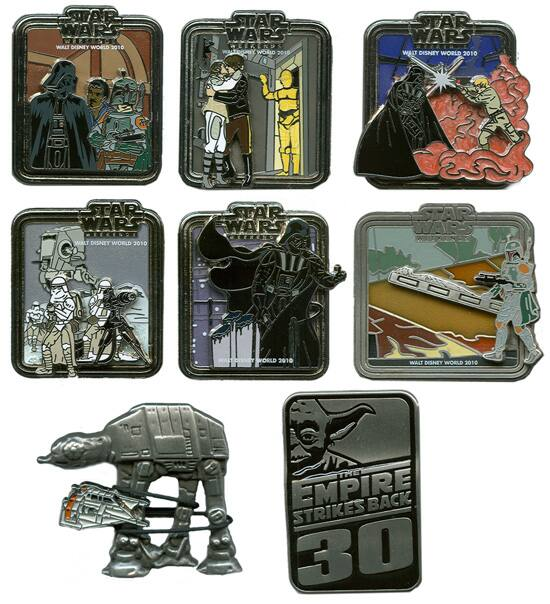 Limited Edition Star Wars Weekends Pins