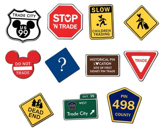 Trade City Road Signs