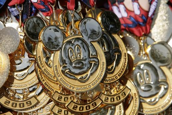 Walt Disney World Marathon Medal