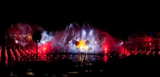 Lion King at World of Color