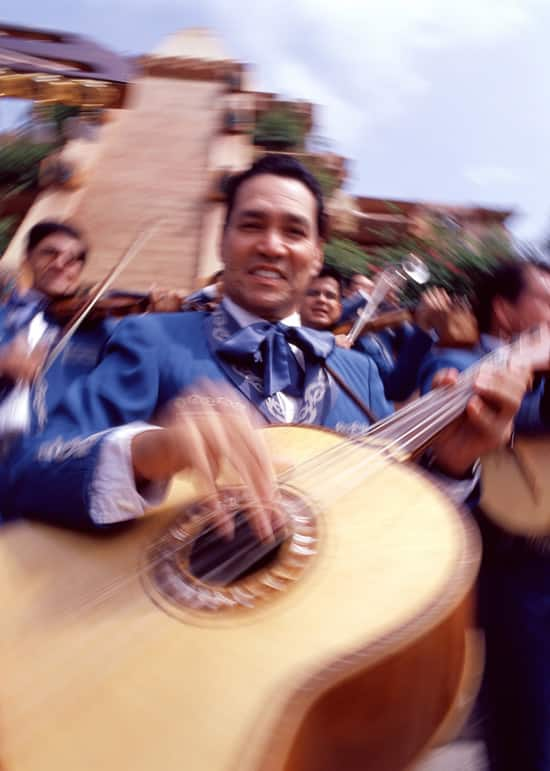 Mariachi Music at Epcot by Gene Duncan