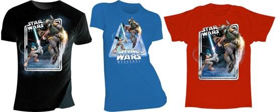 Star Wars Weekends 2010 Logo Shirts