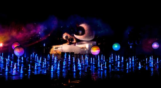 WALL-E at World of Color