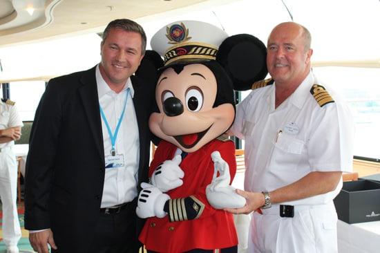 Disney Magic Inaugural Call Ceremonies