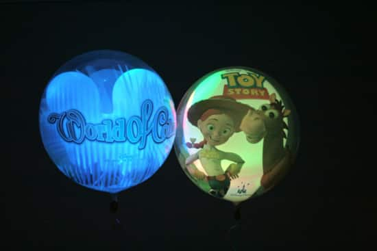 'World of Color' Balloons