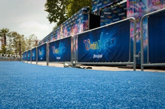 'World of Color' Blue Carpet Premiere