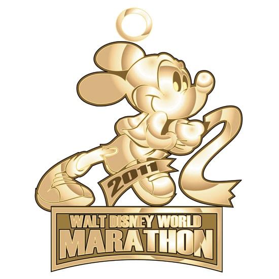 2011 Walt Disney World Marathon Finisher's Medal