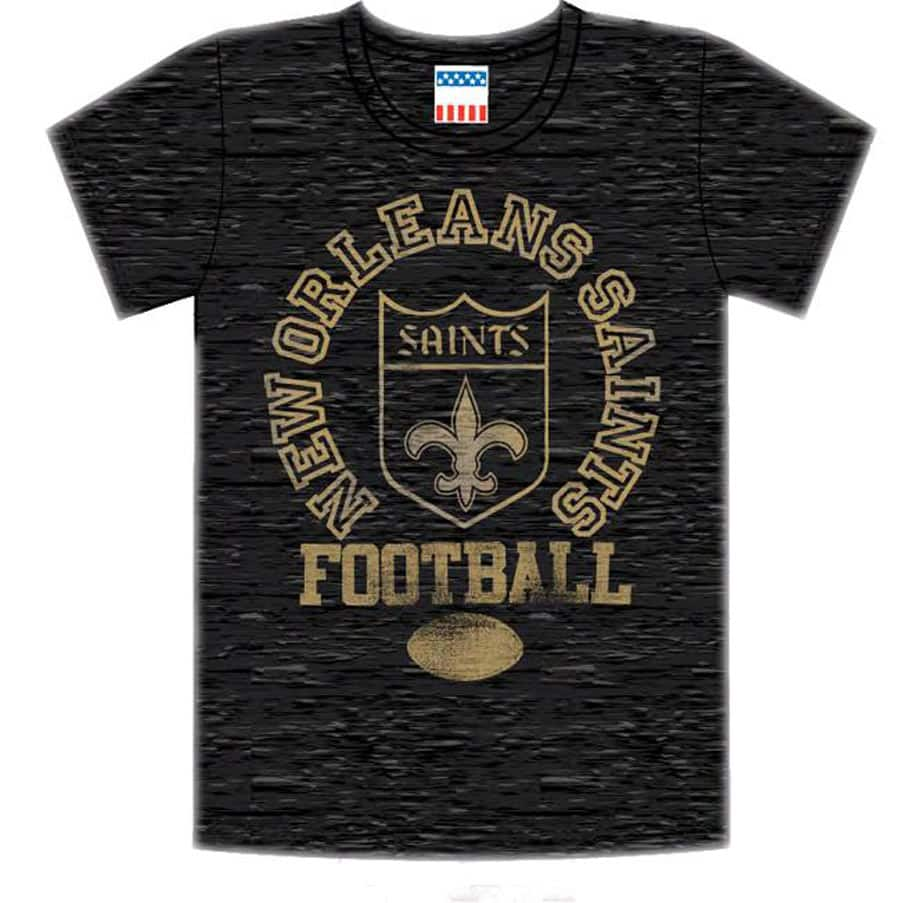 0d375ca509f New Orleans Saints Tee. Likes (0). Share Score a Touchdown with NFL Team  Shirts at D Street!
