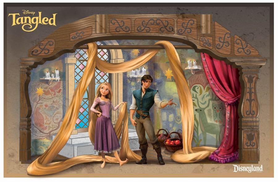First look concept art shows rapunzel meet and greet location at rapunzel meet and greet location at disneyland park m4hsunfo