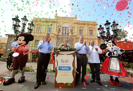 Via Napoli Opening