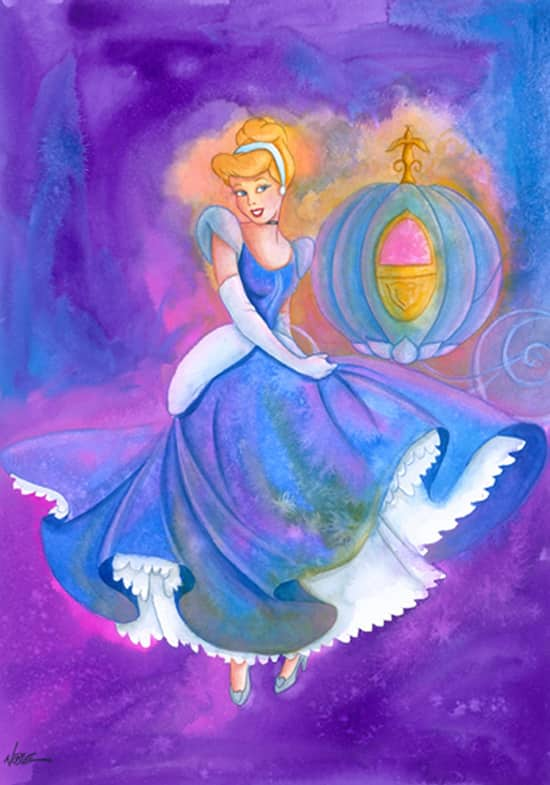 Cinderella Watercolor