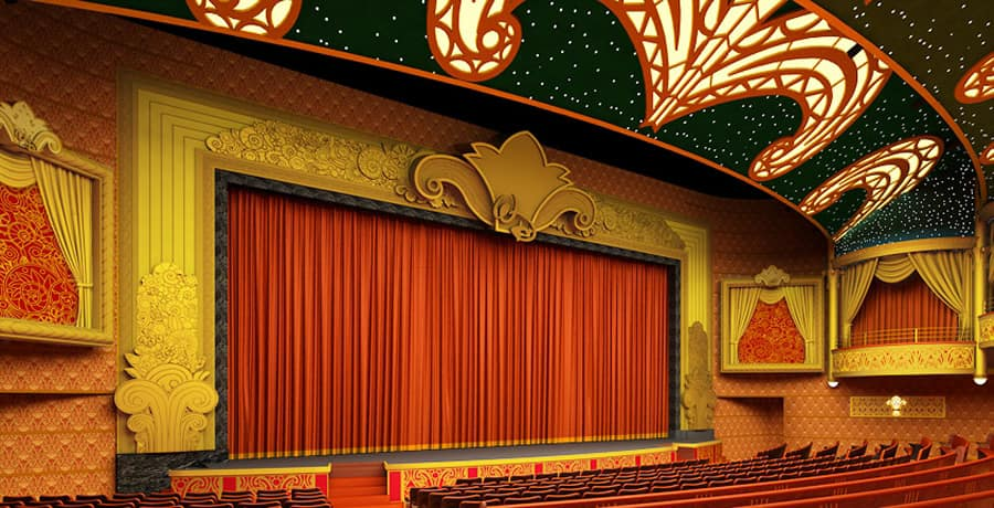 Disney Dream Photo Update The Curtain Is Almost Up At The Walt