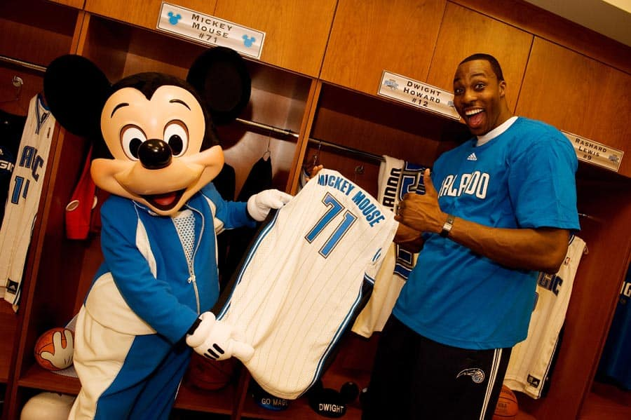 more photos 686c5 1e3a7 Disney Parks Teams Up With the Orlando Magic and Amway ...