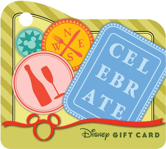 Mini Disney Gift Card