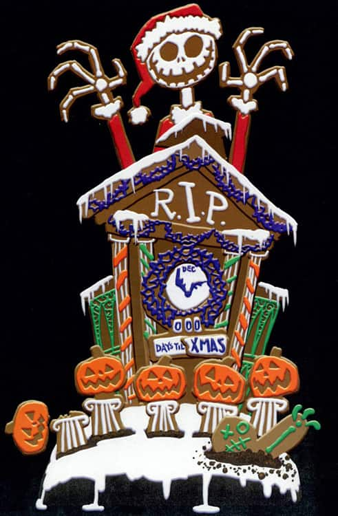 the nightmare before christmas gingerbread house - Nightmare Before Christmas Gingerbread House
