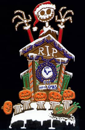 The Nightmare Before Christmas Gingerbread House