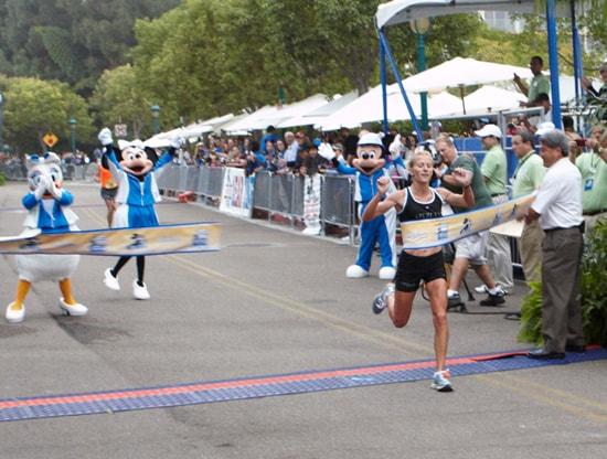 Rachel Booth Finishes the Disneyland Half Marathon
