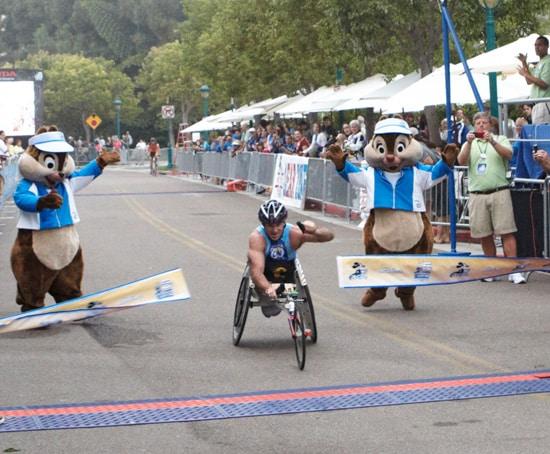 Scott Parson Finishes the Disneyland Half Marathon