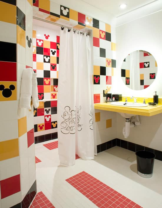 Mickey Mouse Penthouse Bathroom